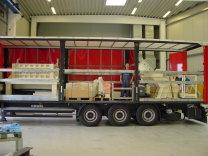 Der erste Granulator UNICREX U1700 für Italien