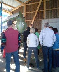 Tag der offenen Tür bei Biogasanlage mit Rotacrex R1200