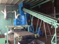 Vertikalshredder R1200 goes to Japan