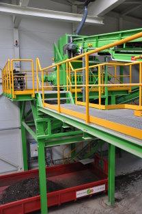 Zerkleinerungsmaschine für Bioabfall