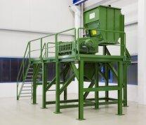 bomatic liefert weitere Anlage zur Vorbehandlung für Bioabfälle aus
