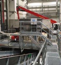Inbetriebnahme einer weiteren bomatic B1600 zur Zopfzerkleinerung