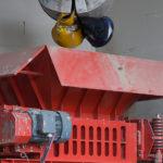 bomatic DS4 lang Rotorschere für Schiffsabfall