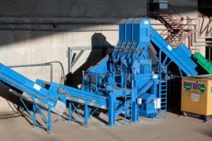 Granulator Unicrex U2100 zur Herstellung von Ersatzbrennstoffen