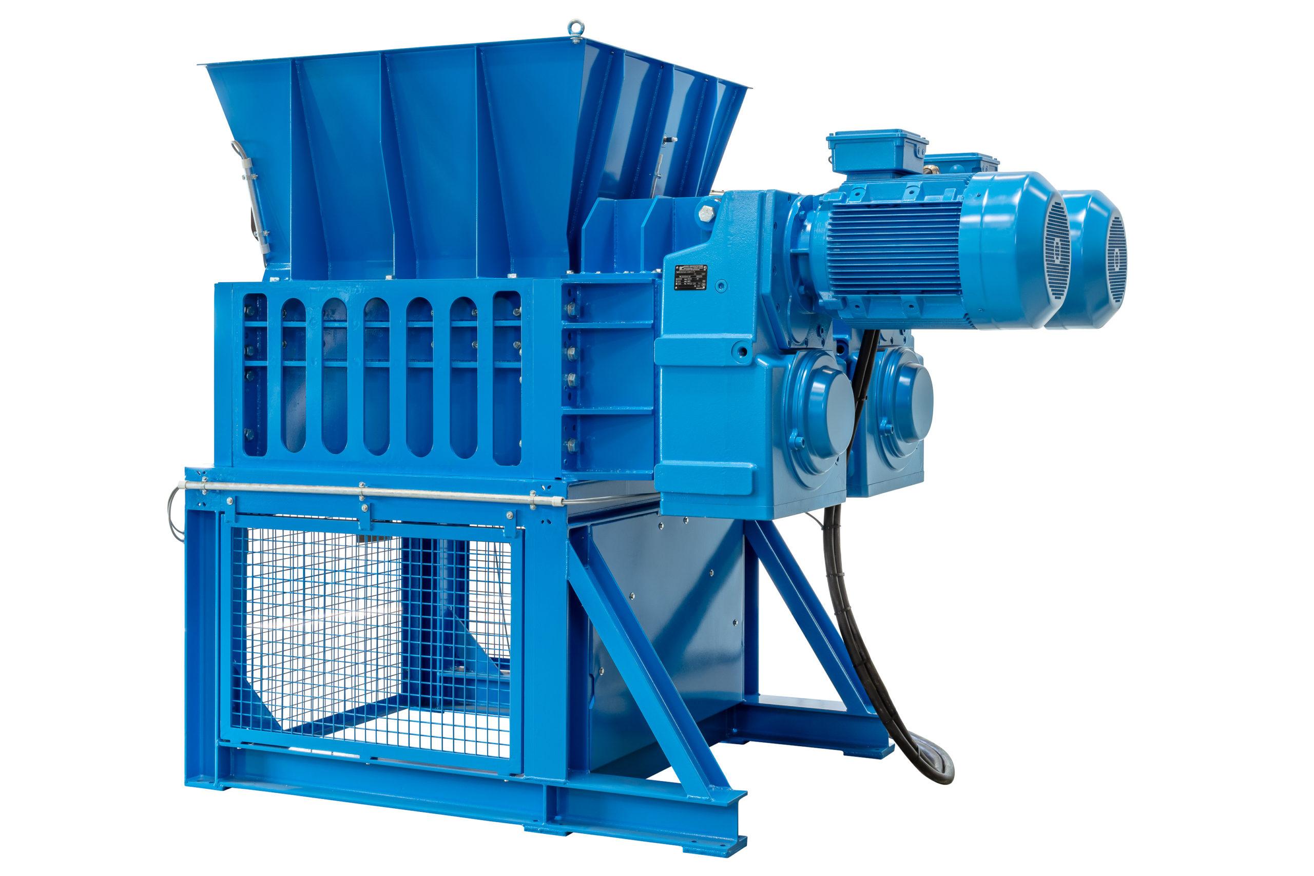 Vier Wellen Zerkleinerungsmaschine bomatic B4WS